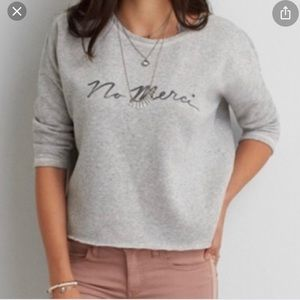 Crop top sweater- Small